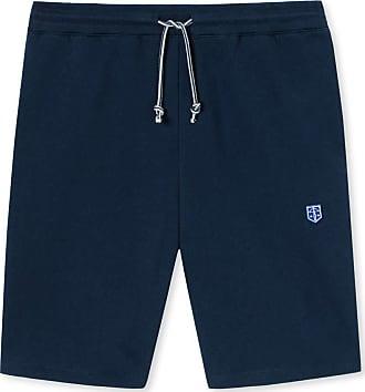 Schiesser Revival Vincent Mens Bermuda Shorts Navy - Blue - X-Large