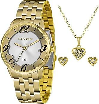 Lince Relógio Lince Feminino Ref: Lrg4604l Kw06s2kx Dourado + Semijóia
