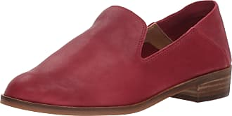 Lucky Brand Womens Cahill Loafer Flat, Biking Red, 6.5 W US