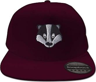 Bang Tidy Clothing Badger Burgundy Snapback