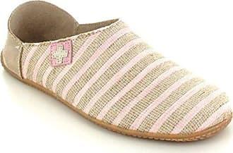 998098e4b67f2 Living Kitzbühel Damen Pantoffel mit Streifen Pantoffeln, Pink (Rosewater),  36 EU