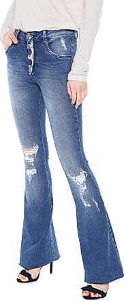 Lebôh Calça Jeans Lebôh Flare Sophie Azul