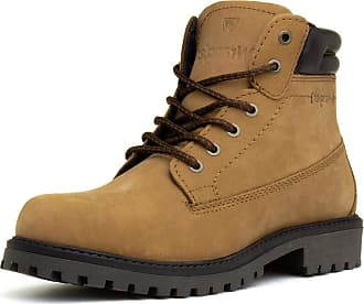 Wrangler Creek Mens Brown Lace Up Boot - Size 11 UK - Brown