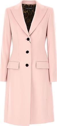 Dolce   Gabbana Mantel für Damen, Trenchcoat Günstig im Sale, Pink, Wolle, a3b1fd64b1