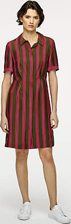 Escada Sport Silk Stripe Shirt Dress