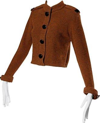 aedaeab3be24 St. John Vintage St. John By Marie Gray Brown Knit Cardigan Sweater Jacket