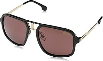 a5dc76a571 Carrera Mens Ca1004s Polarized Aviator Sunglasses BLACK GOLD/BURGUNDY  POLARAIZED 57 mm