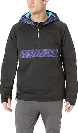 Billabong Mens Stalefish Anorak Insulated Jacket, Black, M