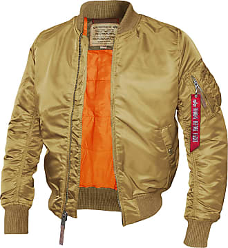 Alpha Industries MA-1 VF 59 Bomberjacke (Sale) gold, Größe S