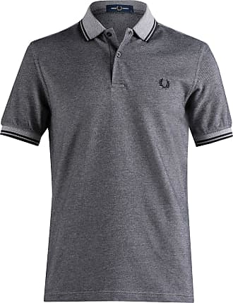 Fred Perry Mens M3600 Polo Shirt, Anchblkox/Black, X-Large
