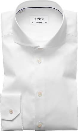 Eton Businesshemd, Contemporary Fit, Haifischkragen von Eton in Weiss für Herren
