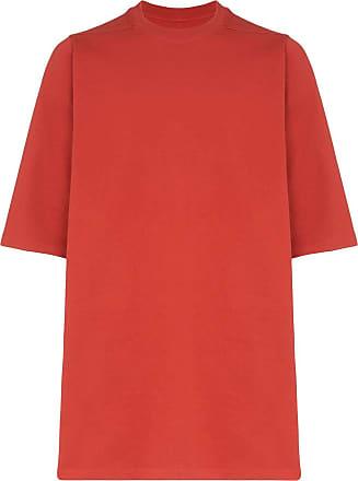 Rick Owens oversized short-sleeve T-shirt - Vermelho
