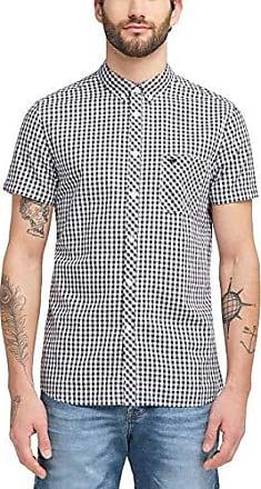 MUSTANG Herren Regular Fit Kurzarm Hemd