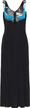 Christopher Kane PVC-trimmed midi dress