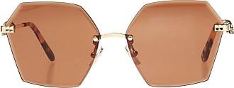 Philipp Plein Beverly Sunglasses Womens Brown