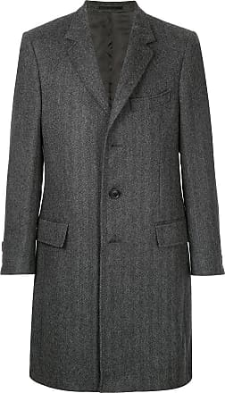 Gieves & Hawkes Casaco oversized - Cinza