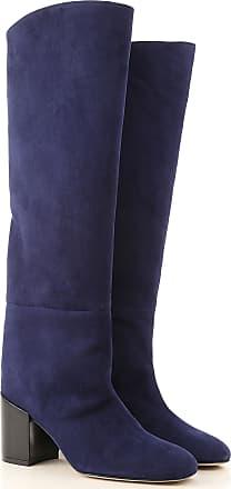 lackstiefel nachtblau