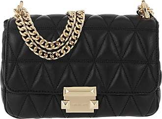 Michael Kors Cross Body Bags - Sloan Small Chain Shoulder Bag Black - black - Cross Body Bags for ladies