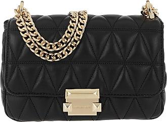 Michael Kors Sloan Small Chain Shoulder Bag Black Umhängetasche schwarz