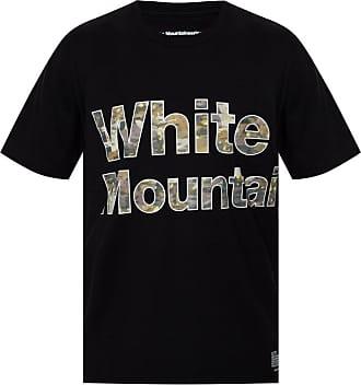 White Mountaineering Logo T-shirt Mens Black
