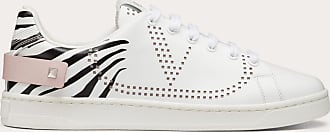 Valentino Garavani Valentino Garavani Backnet Calfskin Sneaker Women Multicolored Calfskin 100% 36
