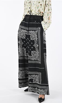 sacai Printed Wide Leg Pants Größe 3