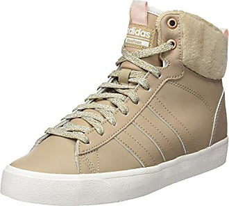 best website 8cc97 fcd7e adidas Damen Cf Daily Qt WTR W Hohe Sneaker Beige (Trace KhakiIcey Pink
