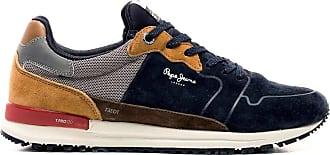 Pepe Jeans London Tinker Pro Racer Summerland Mens Sneakers Blue Size: 8 UK