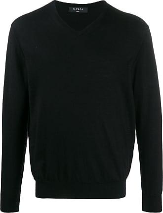 N.Peal V-neck jumper - Black