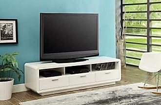 ACME 91300 Randell TV Stand, White