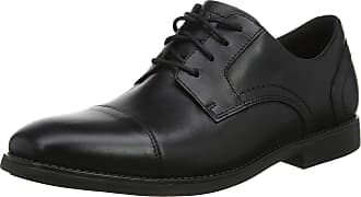 Rockport Mens Slayter Cap Blucher Black Oxfords, 001), 7 (40.5 EU)