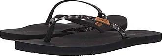 Reef Slim Ginger Beads (Black) Womens Sandals