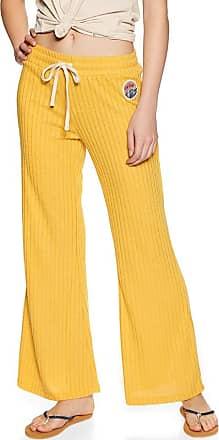 Rip Curl Boardwalk Pant Womens Jogging Pants Medium Yellow