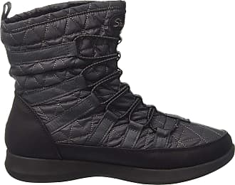 Skechers Womens Boulder Boots, Grey (Charcoal/Black), 7 UK 40 EU