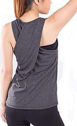 Lofbaz Frauen Cross Back Yoga Shirt Aktivbekleidung Trainings Racerback Tank Top