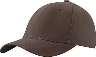 4sold Men Women 100% Baseball Cap Polo Style Classic Sports Casual Plain Sun Hat Hats Brass (Brown)