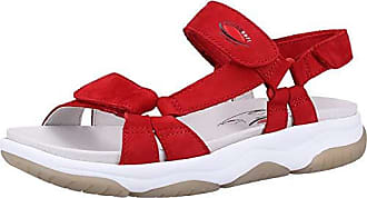 Gabor rollingsoft Sandaletten in Übergrößen Rot 26.928.48 große Damenschuhe