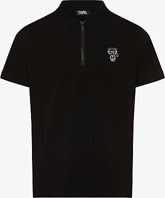 Karl Lagerfeld Herren Poloshirt schwarz