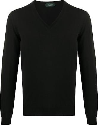 Zanone V-neck sweater - Preto