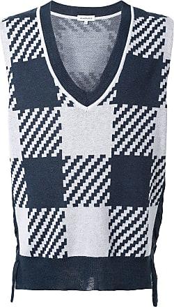 A(Lefrude)E Colete de tricô - Azul