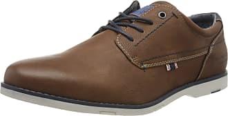 Tom Tailor Mens 8080702 Oxfords, Braun Cognac 00205, 9 UK