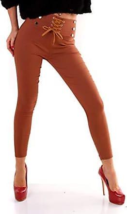 G741 Damen Jeans Look Hose Stretch Leggings Leggins Treggings Skinny Jeggings