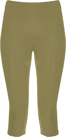 The Celebrity Fashion Cropped Leggings for Women 3/4 Length Capri Trousers Plus Size Classic 3/4 Pants