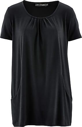 2049177cf20 Bonprix Dam Longshirt i svart halv ärm - bpc selection