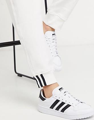 adidas Originals Team Court - Weiße Sneaker