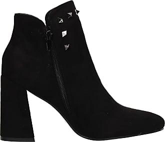 Swankyswans Adalynn Zip up Stud Womens Warm Winter Chelsea Ankle Boots Black UK Size 3 / EU 36