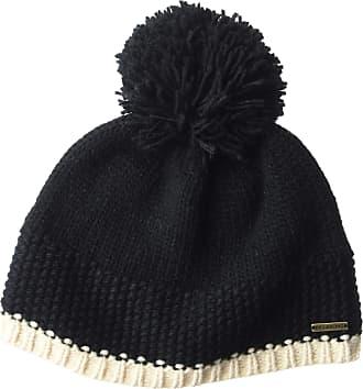 Billabong Womens Zoe Beanie Hat, Black, One Size