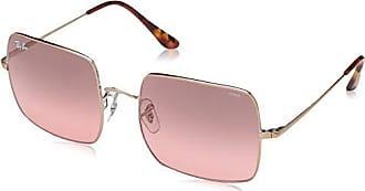 Ray-Ban Polarized Square Sunglasses, Copper, 54 mm