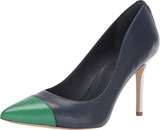 Lauren Ralph Lauren Lauren by Ralph Lauren Womens LINDELLA Pump, Dark Midnight/Spring Emerald, 6 UK