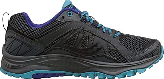 Saucony Womens Excursion TR9 Road Running Shoe, Grey/Blue, 6.5 M US